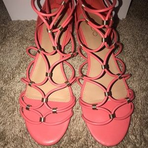 Aldo coral sandals 🎀perfect for hot summer